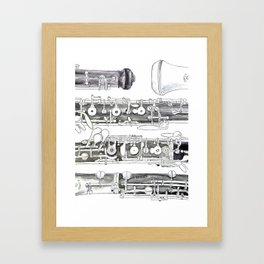 Hautbois Framed Art Print