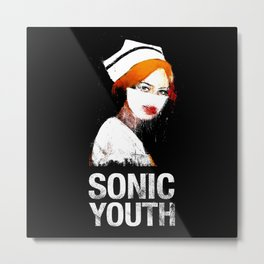 Sonic Youth - Nurse - Music - Rock,Indie,alternative,no wave Metal Print