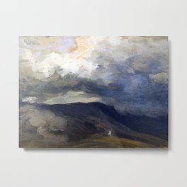 Josef Mánes Clouds in the Mountains Metal Print
