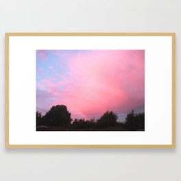 Candyfloss Framed Art Print