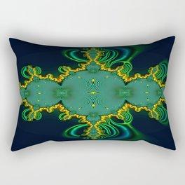 Emerald Art Rectangular Pillow