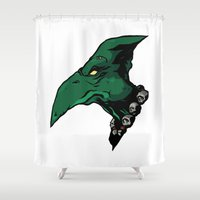 xmen Shower Curtains featuring x10 by jason st paul