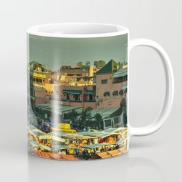 The marketplace of Marrakesh Coffee Mug
