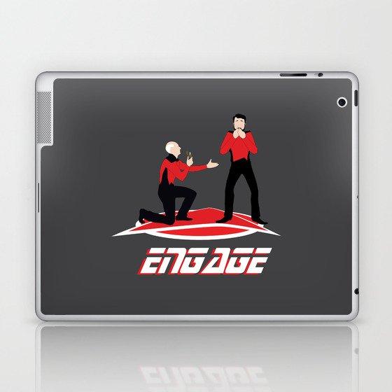 Long Trek to Forever Laptop & iPad Skin