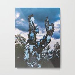 Roadside Decor Photograph. Metal Print