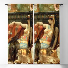 """Alexandre Cabanel """"Cleopatra Testing Poisons on Condemned Prisoners"""" Blackout Curtain"""
