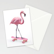 LIMITED EDITION SKATE FLAMINGO Stationery Cards