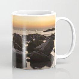 Rocky Ocean Sunrise Coffee Mug
