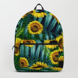 Sunflower Party #2 Backpack