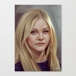 Chloe Moretz   Canvas Print