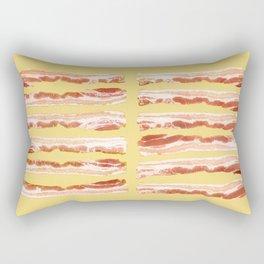 Bacon, Raw Rectangular Pillow