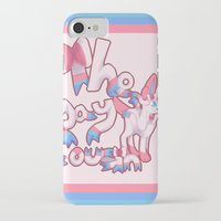 sylveon iPhone & iPod Cases featuring Sylveon: the gay cousin. by Supernerdo13