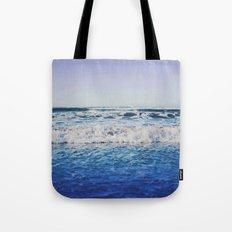 Indigo Waves Tote Bag