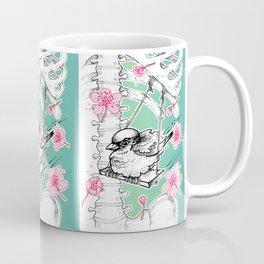 Elastic Heart Coffee Mug