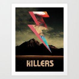 The Killers Eagle Art Print