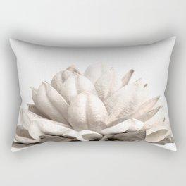 Dried Botanical Neutral Hues Rectangular Pillow