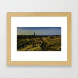 Western Light, Brier Island, Nova Scotia Framed Art Print