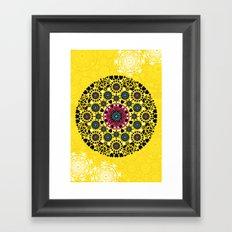 mandala vii Framed Art Print