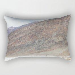 Badwater Basin, Death Valley Rectangular Pillow