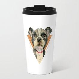 Puppy Eyes 5 Travel Mug