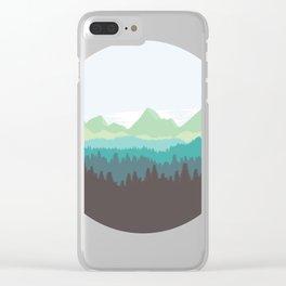 Mountain Air Clear iPhone Case