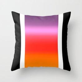 Sunset Gradient Throw Pillow