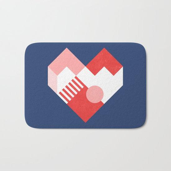 Heart II Bath Mat