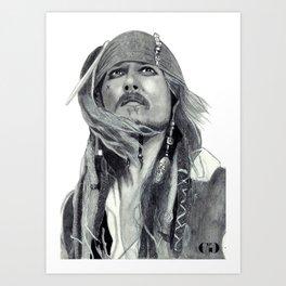 Jack Sparrow - Bring Me That Horizon Art Print