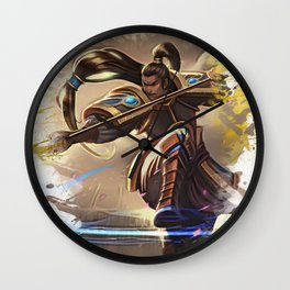 League of Legends XINZHAO Wall Clock