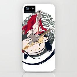 GRETSCH WHITE FALCON iPhone Case