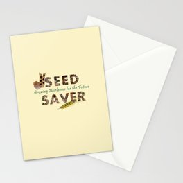 Saving Seeds for the Future Stationery Cards