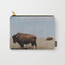 Big Horn Bison Carry-All Pouch
