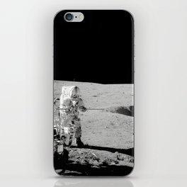 Apollo 14 - Black & White Moon Work iPhone Skin
