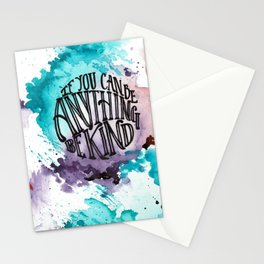 Be Anything Stationery Cards