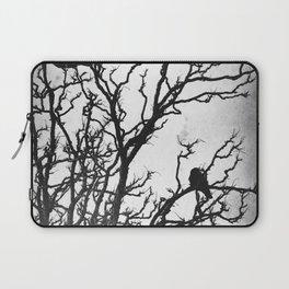Rustic Crows Black Birds Tree Modern Cottage Chic Art A465B Laptop Sleeve