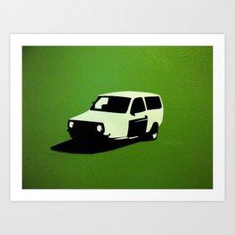 European Wagon Art Print