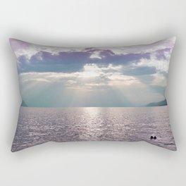 Kiss in the Lake Rectangular Pillow