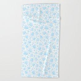 Diamond Pattern Beach Towel