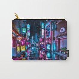 Cyberpunk city underground Carry-All Pouch