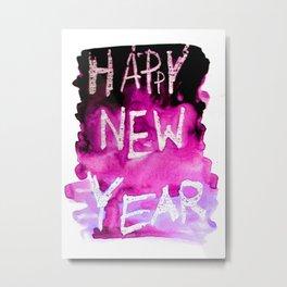 happy new year Metal Print