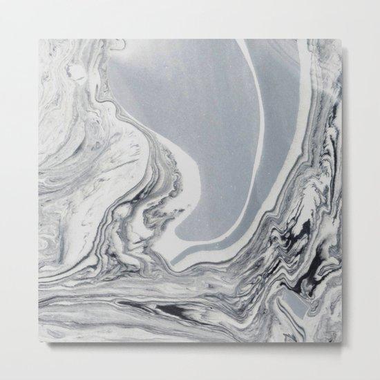 Brazil Marble Metal Print