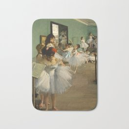 "Edgar Degas ""The dance class"" Bath Mat"