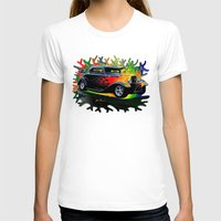 ford T-shirts featuring 32 Ford by JT Digital Art