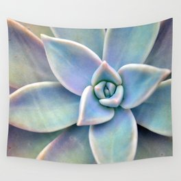 Pastel Succulent Wall Tapestry