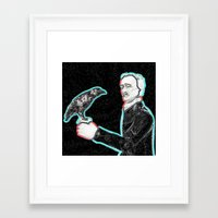 poe Framed Art Prints featuring Poe by Beastie Toyz