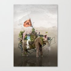 Lost Continent Canvas Print