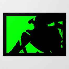 Abstract Hornet Art Print