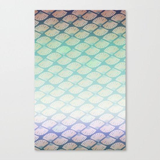 Wind Pattern Canvas Print