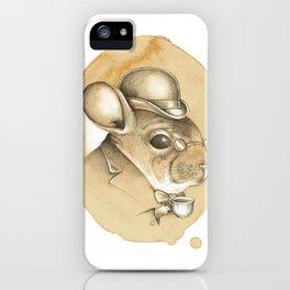 Gentleman Chinchilla iPhone Case