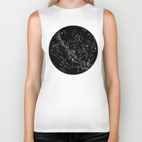 constellations Biker Tanks featuring Constellations  by Terry Fan